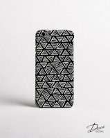 DESSI DESIGNS | MONOCHROME TRIANGLE (black) | iPhone 6ケース