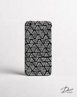 DESSI DESIGNS | MONOCHROME TRIANGLE (black) | iPhone 6ケースの商品画像