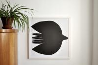 bastisRIKE | FLOWERBIRD POSTER | ポスター (50x50cm)の商品画像