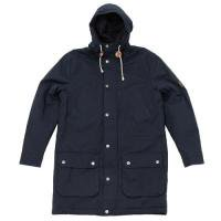 LYLE & SCOTT | Hooded Waxed Cotton Parka | フードパーカー | Sサイズ (navy)
