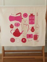 CLAUDIA PEASON | WAKE UP TEA TOWEL | ティータオル