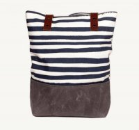 SUCH SWEET TIERNEY | NAVY STRIPE TOTE | トートバッグ