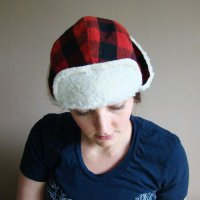 FRANK & GERTRUDE | Lumberjack Hat in Red and Black Plaid | 赤x黒