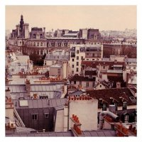 ALICIA BOCK PHOTOGRAPHY | PARIS ROOFTOPS #3 | フォトグラフィ/ポスター