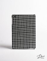 DESSI DESIGNS | CROSS STRIPES / GRID (black) | iPad mini 4 ケース
