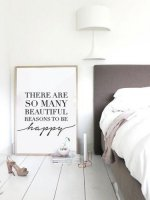 LOVELY POSTERS | THERE ARE SO MANY BEAUTIFUL REASONS TO BE HAPPY | アートプリント/ポスター (50x70cm)の商品画像
