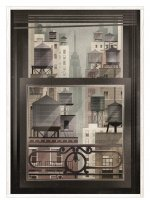 HUMAN EMPIRE | DIETER BRAUN | NYC WINDOW | ポスター (50x70cm)