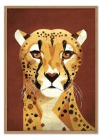 HUMAN EMPIRE | DIETER BRAUN | CHEETAH | ポスター (50x70cm)