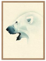 HUMAN EMPIRE | DIETER BRAUN | POLAR BEAR | ポスター (50x70cm)の商品画像