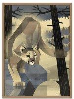 HUMAN EMPIRE | DIETER BRAUN | MOUNTAIN LION POSTER | ポスター (50x70cm)の商品画像