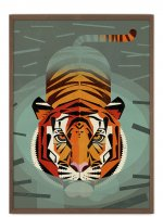 HUMAN EMPIRE | DIETER BRAUN | SWIMMING TIGER POSTER | ポスター (50x70cm)