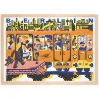 HUMAN EMPIRE | BERLIN TUBE POSTER | ポスター (50x70cm)【北欧 インテリア リビング おしゃれ】の商品画像