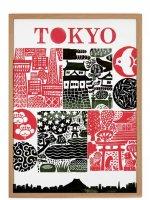 HUMAN EMPIRE | TOKYO POSTER | ポスター (50x70cm)【北欧 インテリア リビング 東京 おしゃれ】の商品画像