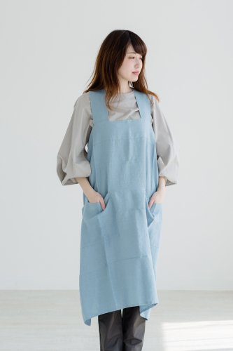 not PERFECT LINEN | PINAFORE - SQUARE...