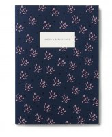 KARTOTEK COPENHAGEN | SMALL NOTEBOOK FLORAL (navy) | ノートブック