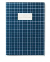 KARTOTEK COPENHAGEN | LARGE NOTEBOOK CHECK (dark blue) | ノートブック