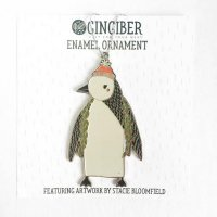 【SALE 30%オフ】GINGIBER | PENGUIN ENAMEL ORNAMENT | オーナメント