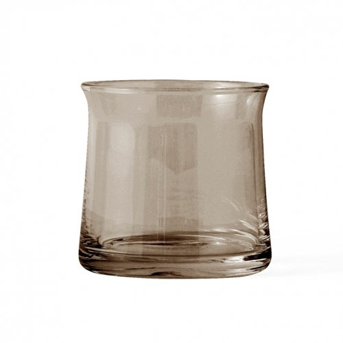 LYNGBY PORCELAIN | JOE COLOMBO DRINKING GLASS small (brown smoke) | タンブラー/グラス