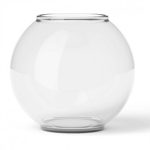 LYNGBY PORCELAIN | FORM 70/2 GLASS 10cm (clear) | フラワーベース/花瓶