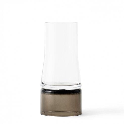LYNGBY PORCELAIN | JOE COLOMBO VASE 2-IN-1 (clear/smoke brown) | フラワーベース/花瓶