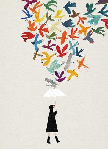 BLANCA GOMEZ | AUTUMN BIRDS | A3+ ア...