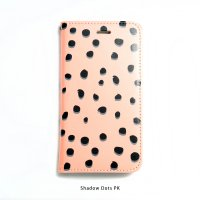 SCANDINAVIAN PATTERN COLLECTION | ヴィクトリア・ハムベリエ | Shadow dots (pink) | iPhone 6-6s-7-8 全対応ケース