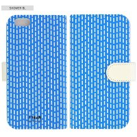 SCANDINAVIAN PATTERN COLLECTION | Shower (blue) | iPhone 6-6s-7-8 全対応ケース