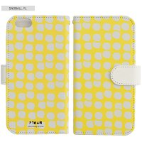 SCANDINAVIAN PATTERN COLLECTION | Snowball (yellow) | iPhone 6-6s-7-8 全対応ケース