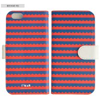 SCANDINAVIAN PATTERN COLLECTION | Beehive (red) | iPhone 6-6s-7-8 全対応ケース