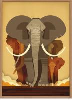 HUMAN EMPIRE | DIETER BRAUN | ELEPHANT POSTER | ポスター (50x70cm)の商品画像