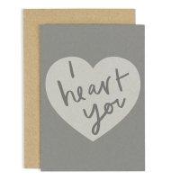 OLD ENGLISH CO. | I HEART YOU (CC152) | グリーティングカードの商品画像