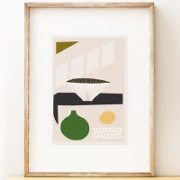 SHAPE COLOUR PATTERN | Modern art print 'Kettle's Yard Lucie' | A3 アートプリント/ポスター