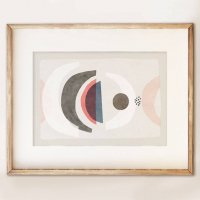 SHAPE COLOUR PATTERN   Abstract art print no.15   A3 アートプリント/ポスターの商品画像