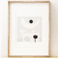 SHAPE COLOUR PATTERN   Contemporary abstract art print 'Offering'   A3 アートプリント/ポスターの商品画像