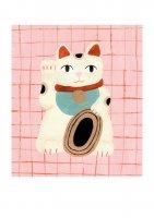 【ネコポス送料無料】CLARA SELINA BACH | MANEKI-NEKO | A4 アートプリント/ポスターの商品画像
