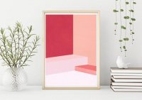 PROJECT NORD | ABSTRACT ROOM  | アートプリント/ポスター (50x70cm)の商品画像