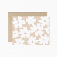 EVERMORE PAPER CO. | BLUSH FLORAL BLANK GREETING CARD | グリーティングカード