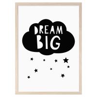 MINI LEARNERS | DREAM BIG CLOUDS | A3 アートプリント/ポスターの商品画像