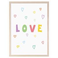 MINI LEARNERS | LOVE | A3 アートプリント/ポスターの商品画像