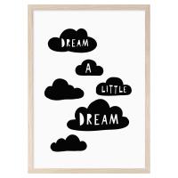 MINI LEARNERS | DREAM A LITTLE DREAM | A3 アートプリント/ポスターの商品画像