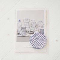 MARIANNE HALLBERG (マリアンヌ・ハルバーグ) | 缶バッジ大 | チェックの商品画像