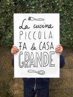 【オーダーメイド】ANEK   Cucina picolla Poster   アートプリント/ポスター (50x70cm)【北欧 カフェ レストラン インテリア おしゃれ】の商品画像