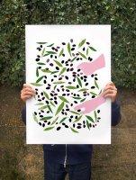 【オーダーメイド】ANEK   Olive Harvest Poster   アートプリント/ポスター (50x70cm)の商品画像