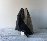 【ネコポス送料無料】ATELIER SETTEMBRE   TOTE BAG (black and taupe)   トートバッグ/ショッピングバッグの商品画像
