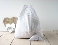 【ネコポス送料無料】ATELIER SETTEMBRE   TOTE BAG (polka dot)   トートバッグ/ショッピングバッグの商品画像