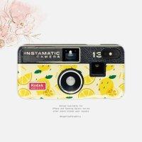 【ネコポス送料無料】SUGARLOAF GRAPHICS | YELLOW LEMON CAMERA | iPhone X/XSケースの商品画像