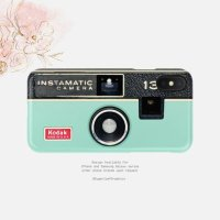 【ネコポス送料無料】SUGARLOAF GRAPHICS | MINT INSTAMATIC CAMERA | iPhone X/XSケース
