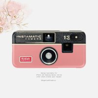 【ネコポス送料無料】SUGARLOAF GRAPHICS | PINK INSTAMATIC CAMERA | iPhone X/XSケース