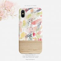 【ネコポス送料無料】SUGARLOAF GRAPHICS | ARTSY WATERCOLOR | iPhone X/XSケース