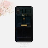 【ネコポス送料無料】SUGARLOAF GRAPHICS | 221B SHERLOCK HOLMES DOOR | iPhone X/XSケース